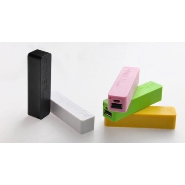 chargeur batterie universel usb 2600mah porte cl s. Black Bedroom Furniture Sets. Home Design Ideas