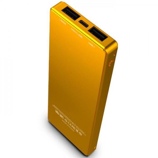 batterie externe lingot d 39 or 9000mah gold power bank ultra slim. Black Bedroom Furniture Sets. Home Design Ideas