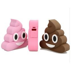 batterie emoji caca epow batterie externe 2600mah