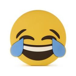 epow-batterie de secours emoji smiley mort de rire mdr lol 2600mah