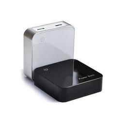 batterie externe 6600mah blanc affichage digital compatible iphone 5