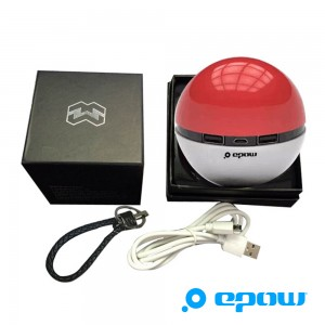 EPOW Ball 6600mah-batterie USB pokemon go iphone-batterie externe pokeball cadeau de noel