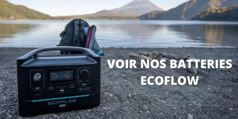 Générateur nomade électrique nomade haute capacité marque Ecoflow