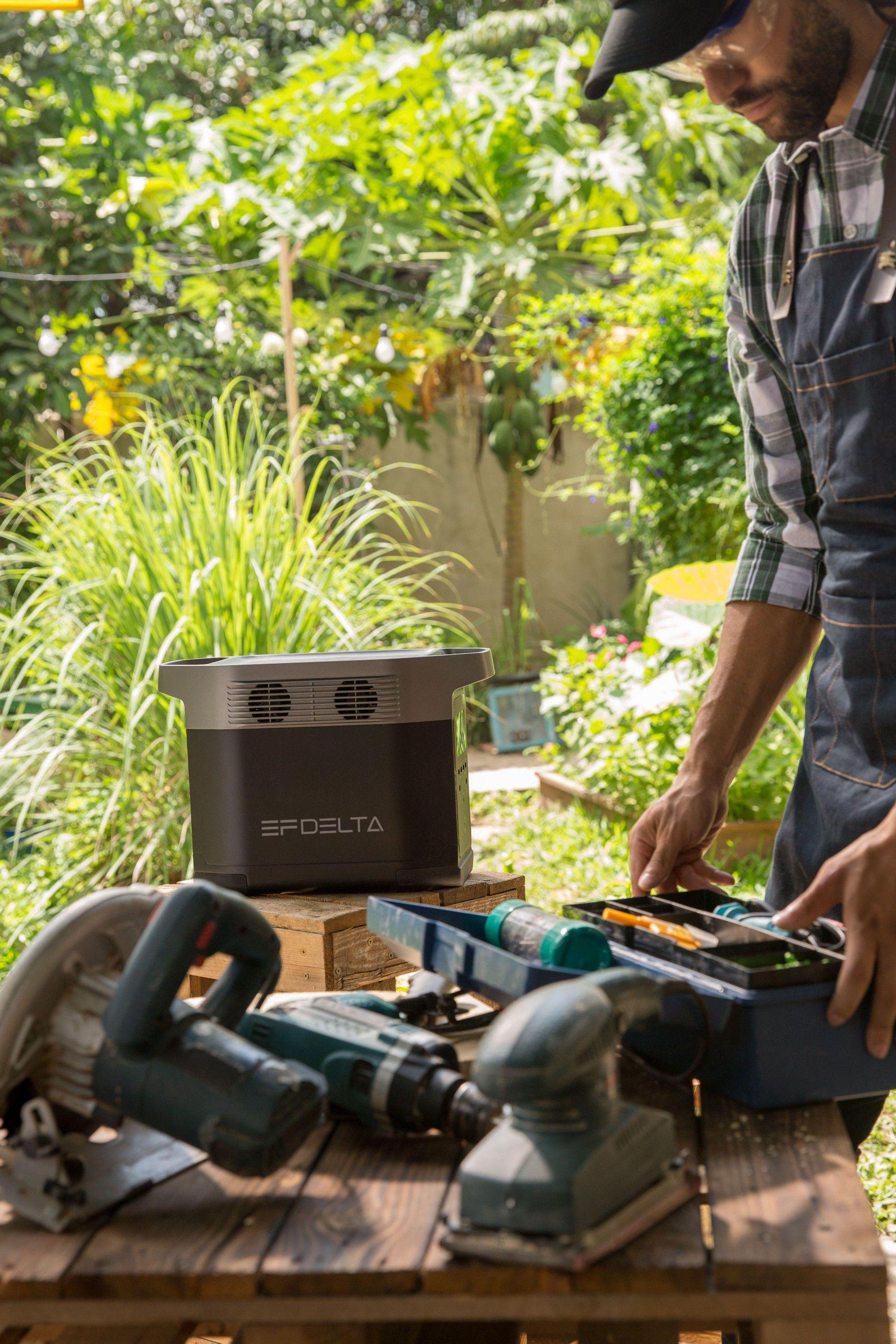 Delta Ecoflow batterie de secours 220V solaire