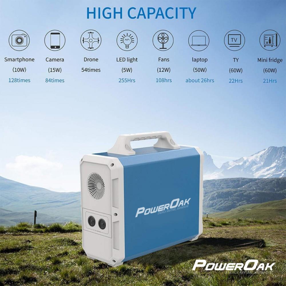 PS8 Poweroak 1500Wh generateur electrique solaire