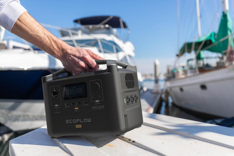 batterie externe solaire ecoflow river pro