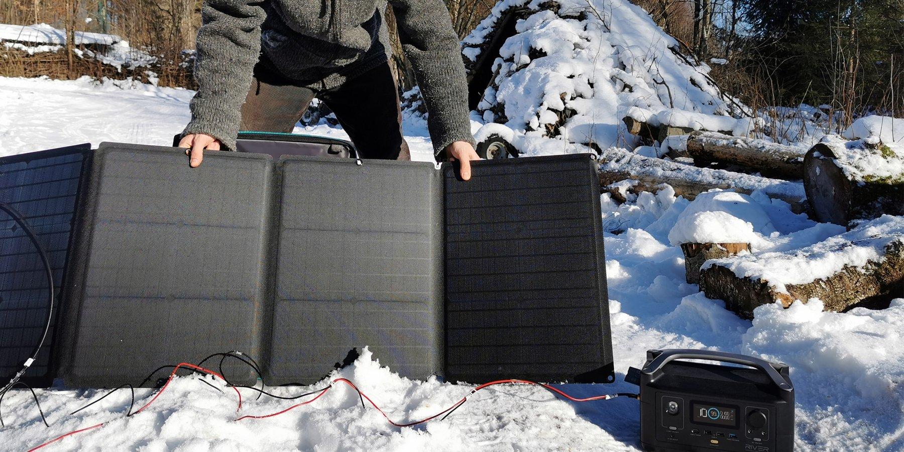 Panneau solaire ecoflow batterie 220V