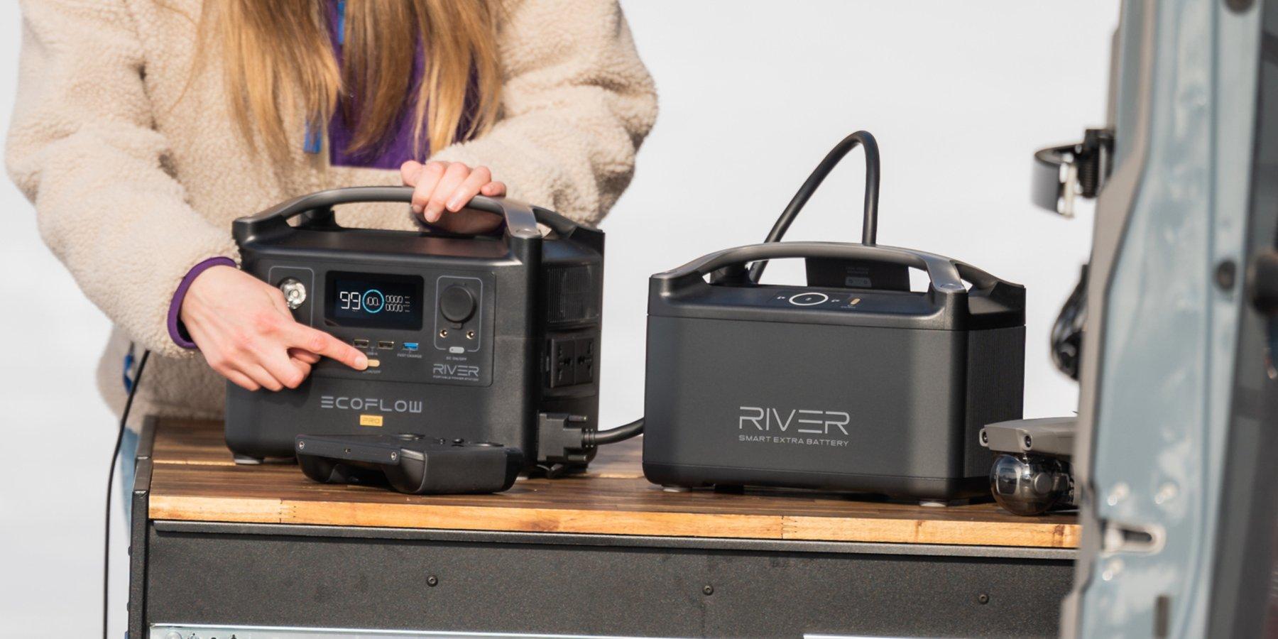 ecoflow river pro 1440Wh batterie externe 220V