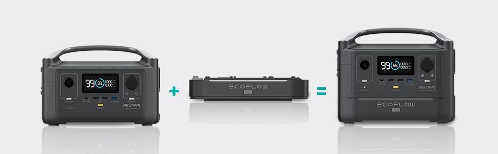 ecoflow river max batterie externe 220V