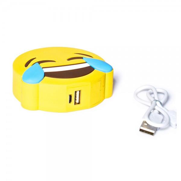 Epow Batterie Externe Emoji Rire Emoticone Smiley Lol 2600mah