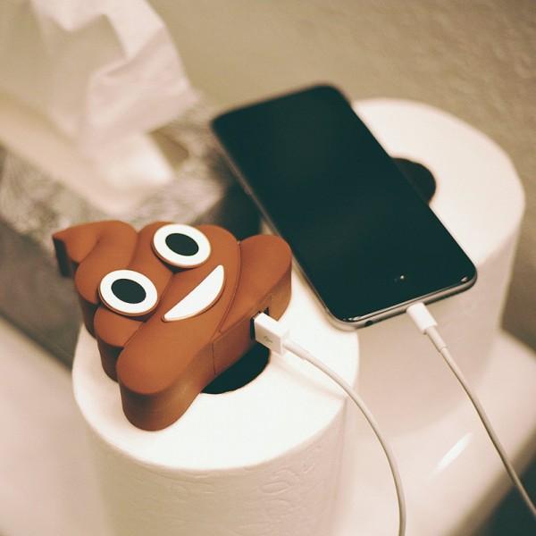 Epow Batterie Externe Emoji Caca Glace Emoticone 2600mah Fun