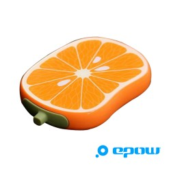 epow emoji series fruit batterie de secours chargeur fruits