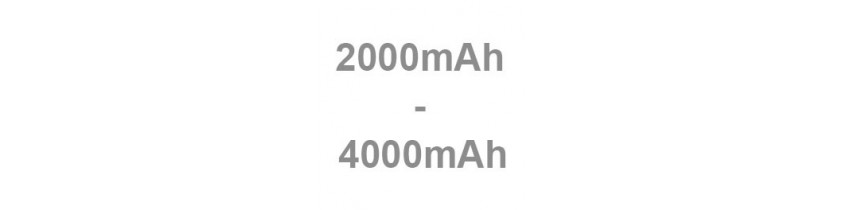 Batterie externe universelle 2000mAh - 4000mAh